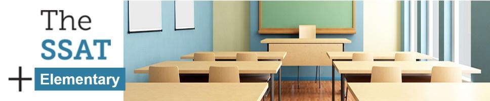 Elementary Level SSAT Exam