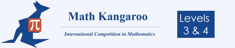 Math Kangaroo 3-4 Banner