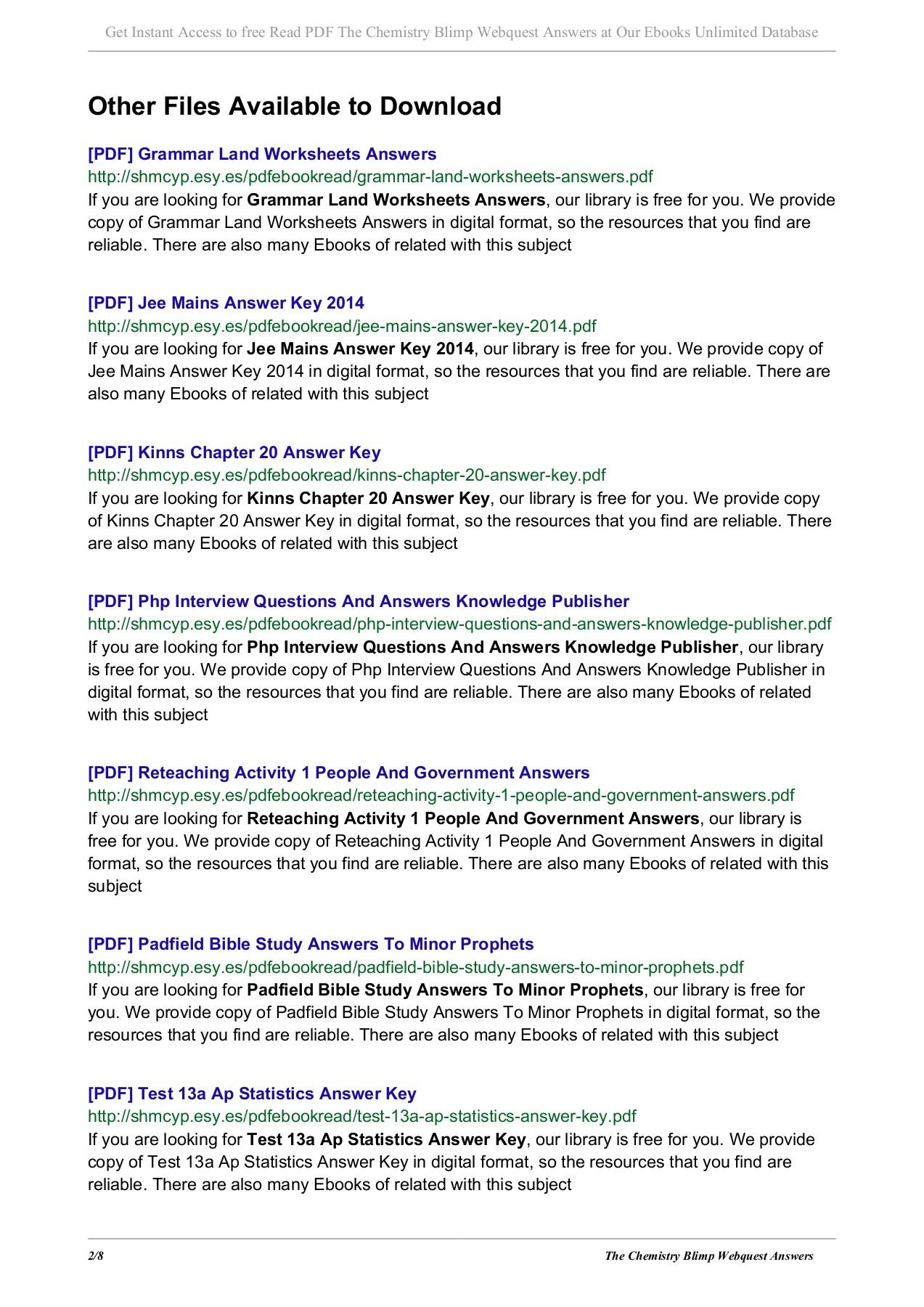 Geologic Time Webquest Worksheet Answers