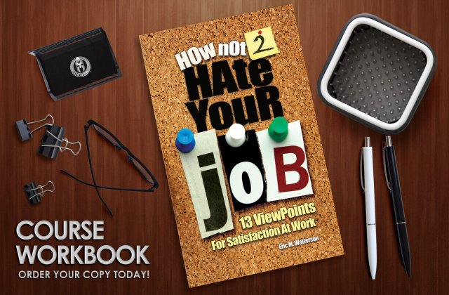 Not Hate Your Job Book