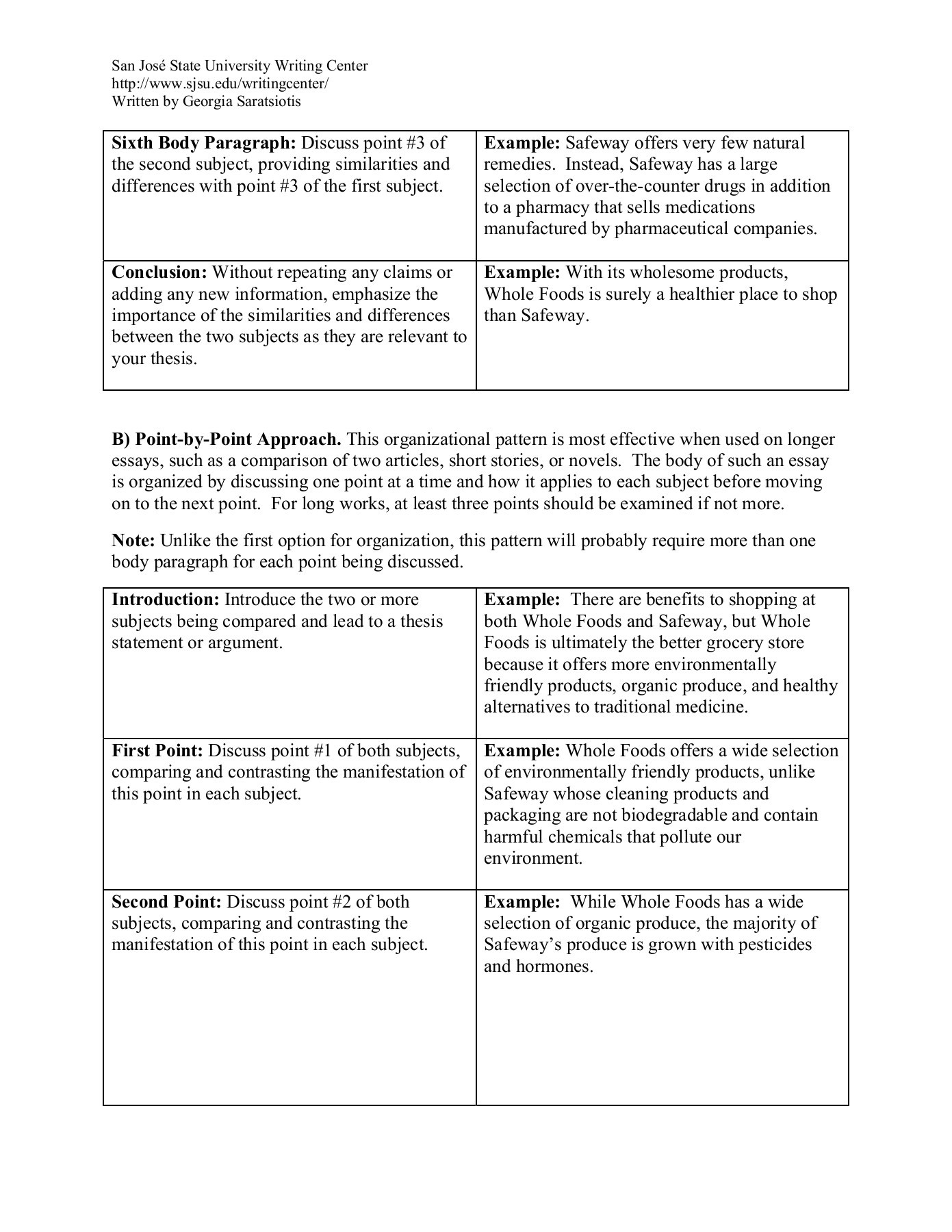 Two Good Short Stories To Compare And Contrast How To