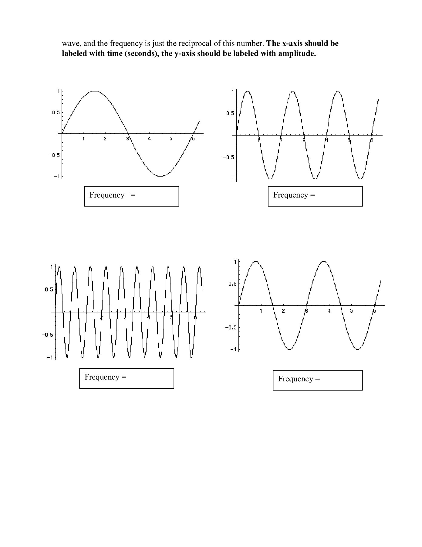 Overview Waves Worksheet Answers