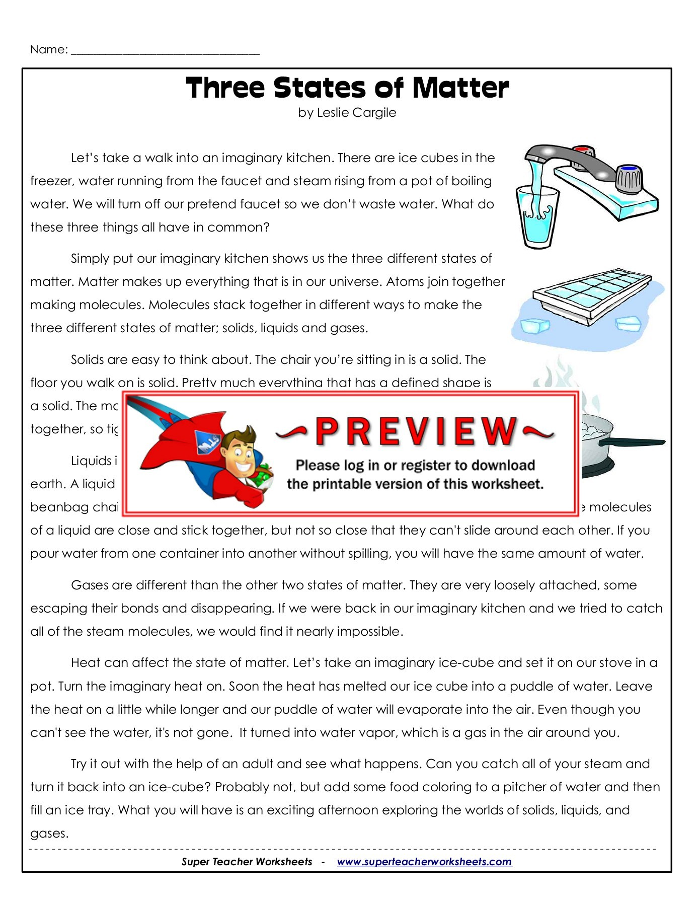 Superteacherworksheets Com