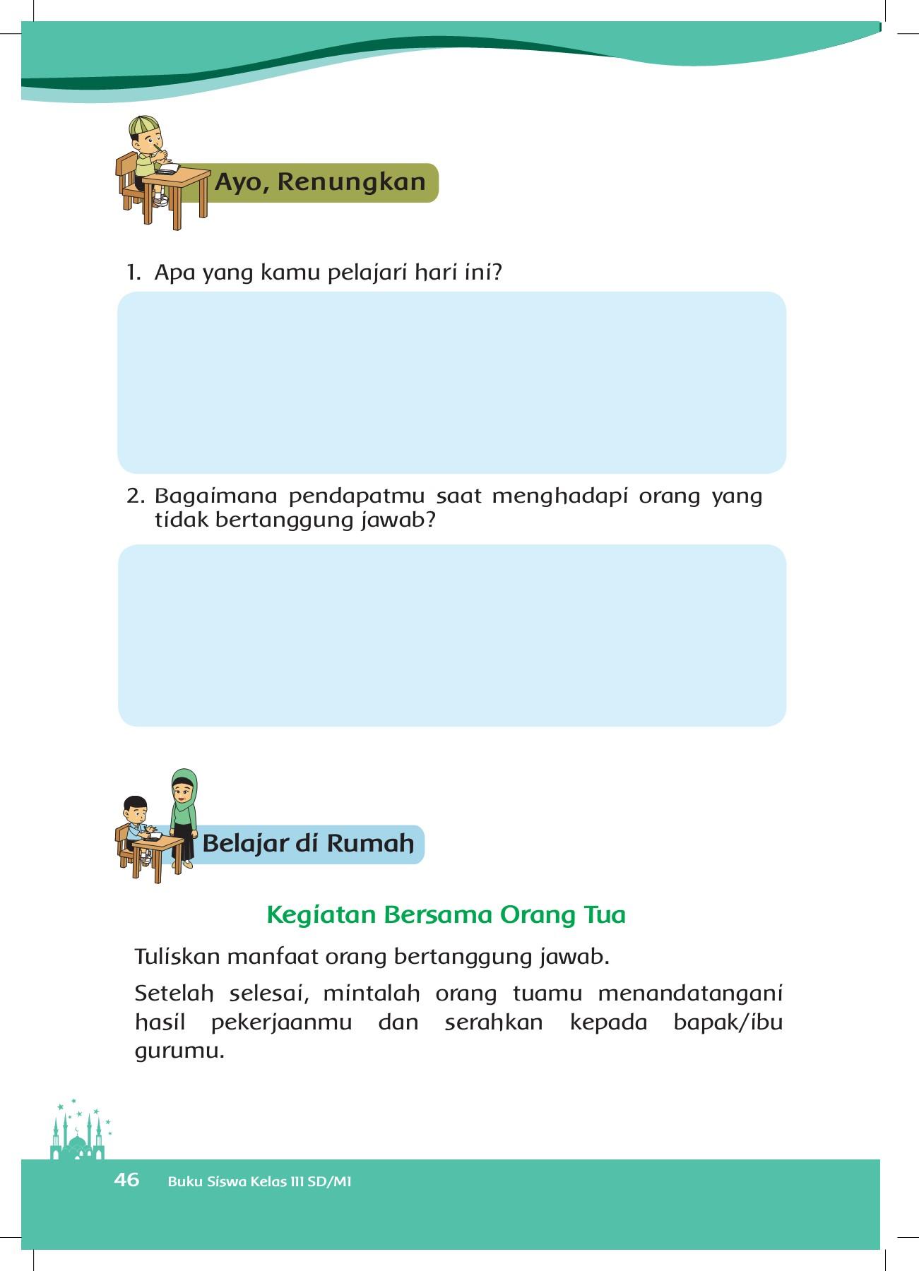 Pendidikan agama islam dan budi pekerti Buku Kelas 3 Pai Dan Budi Pekertik Pages 51 100 Flip Pdf Download Fliphtml5