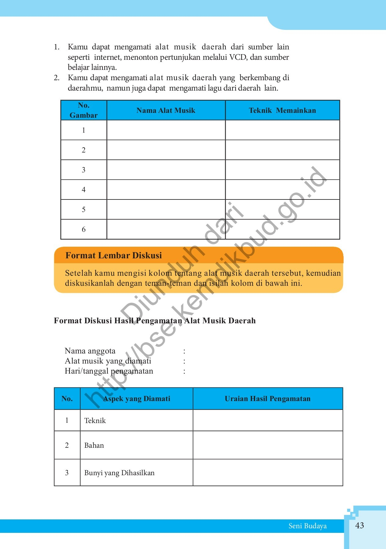 Buku pegangan guru seni budaya sma kelas 10 kurikulum 2013 edisi revi. Jawaban Buku Paket Seni Budaya Kelas 7 Halaman 166 Berbagai Buku