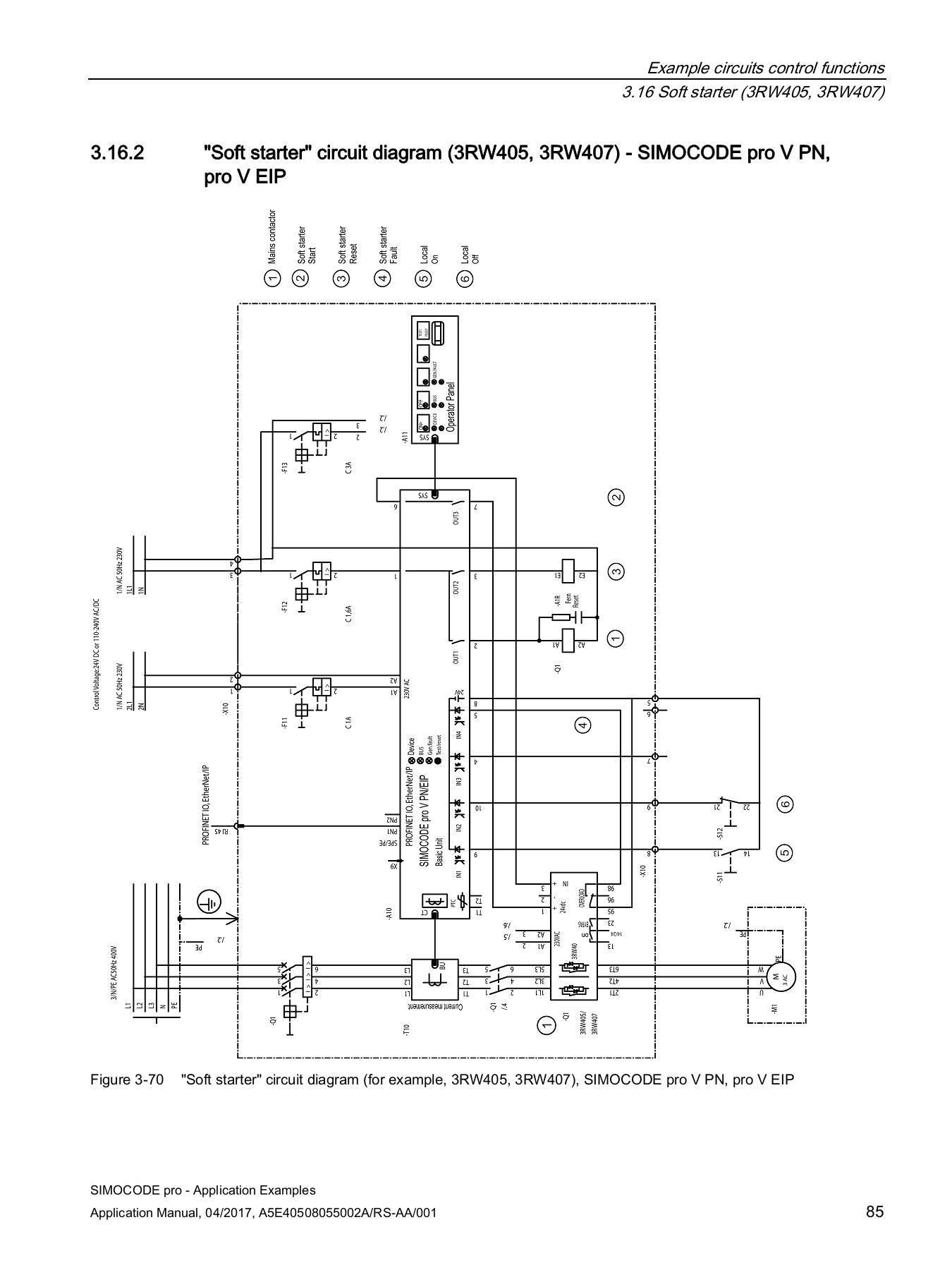 Simocode Pro C Wiring Diagram