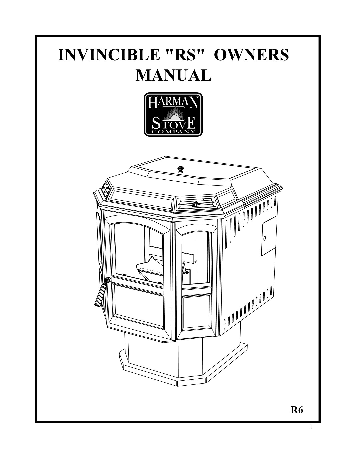 Harman Invincible Pellet Stove Fireplace Insert