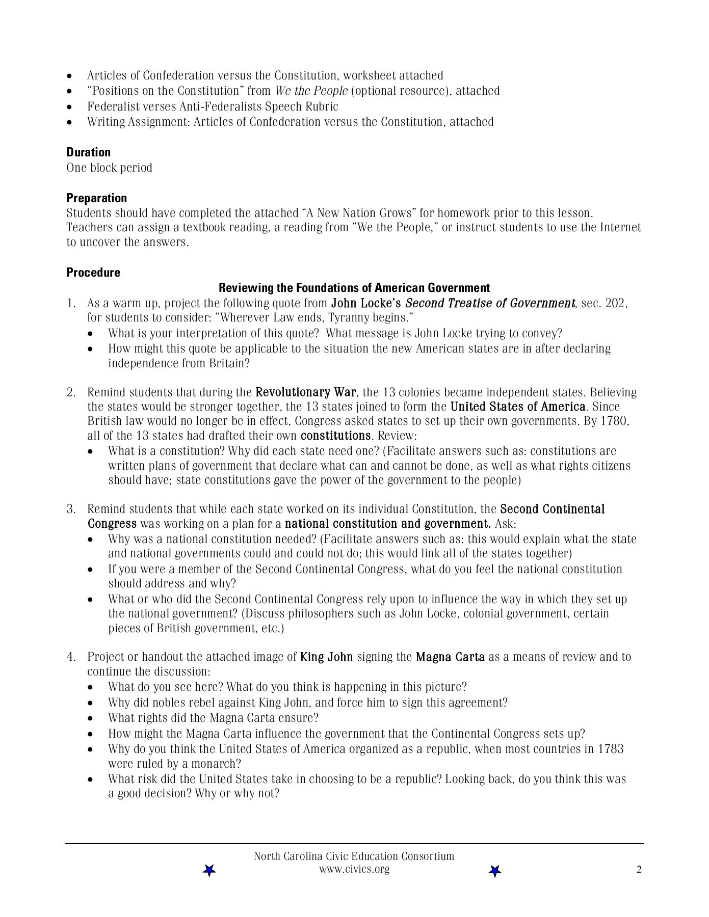 Interpreting The Constitution Worksheet Answers