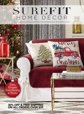 It's certainly nice to shop for items from the comfort of your home whenever you want, but how do you know you're getting good deals when you go online to buy stuff? Surefit Home Decor Promo Code   Decorating Ideas