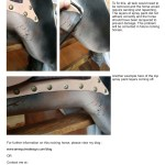 Refurbished Large Rocking Horse For Sale