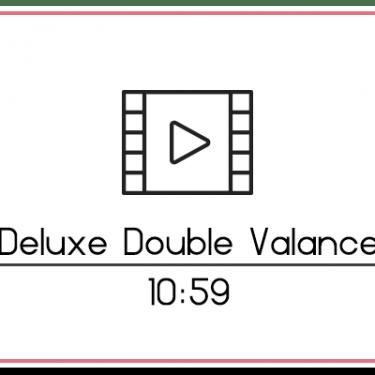 29.3 Double Valance Backdrop