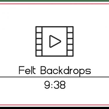 29.6 Felt Backdrops