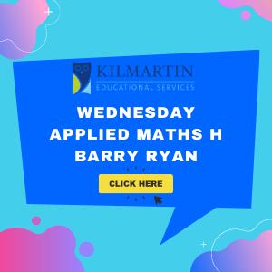 Applied Maths H