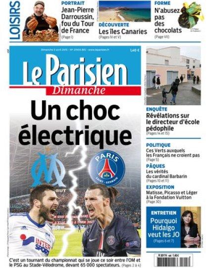 Le Parisien + Guidee de votre dimanche du 05 avril 2015