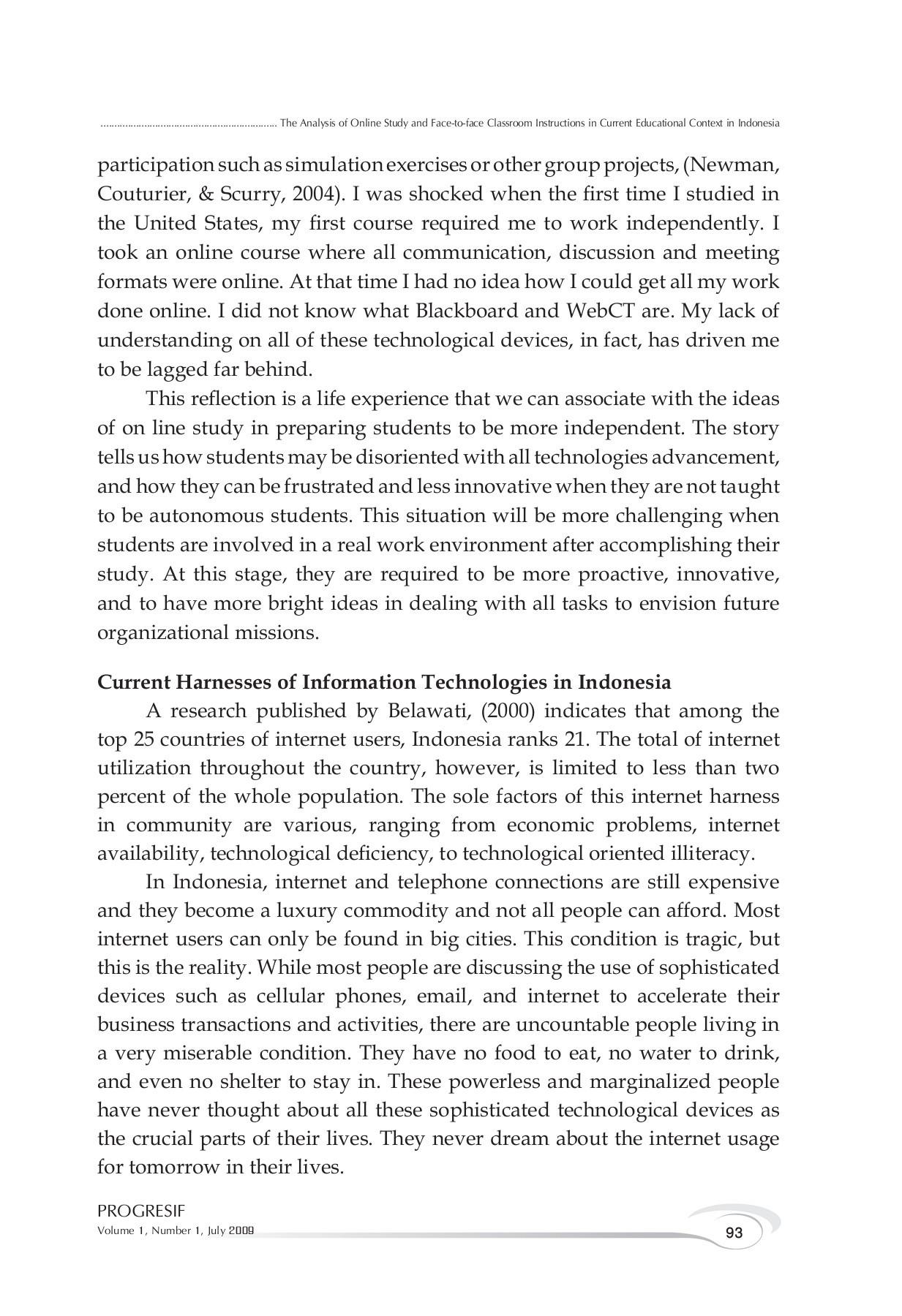 Sustainable development goals (sdgs) atau tujuan pembangunan berkelanjutan, merupakan suatu rencana aksi global yang disepakati oleh para pemimpin dunia, termasuk indonesia, guna mengakhiri kemiskinan, mengurangi kesenjangan dan melindungi lingkungan. Jurnal Progresif 01 2009 Flip Book Pages 101 150 Pubhtml5