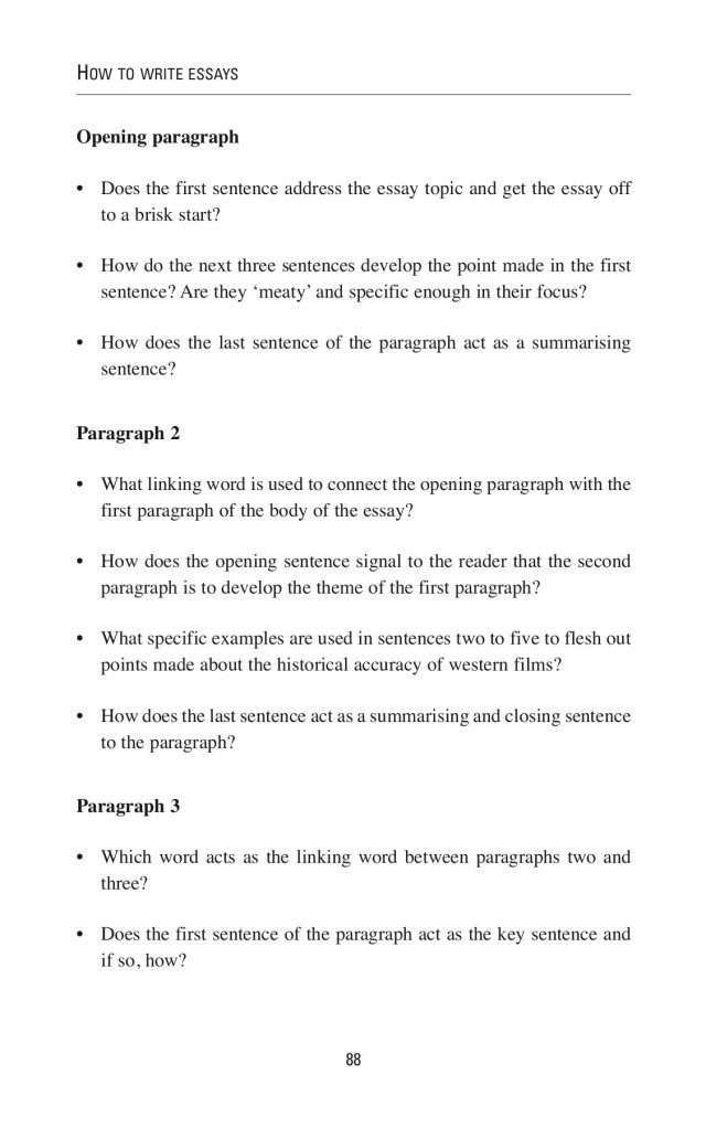 How to Write Essays - Flip Book Pages 26-26  PubHTML26