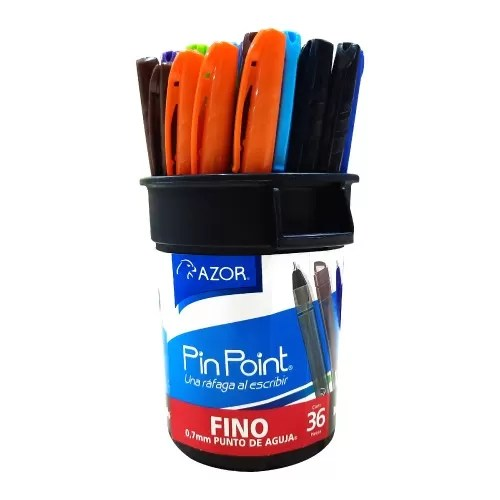 Bolígrafo Pin Point Colores Surtidos