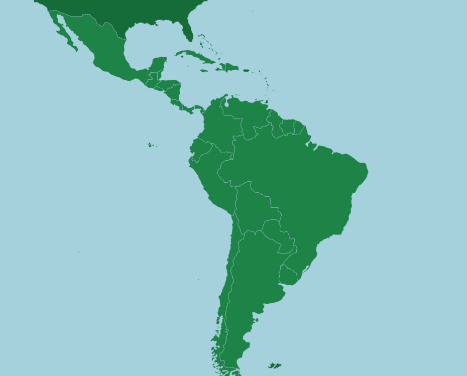 Latin America  Countries   Map Quiz Game