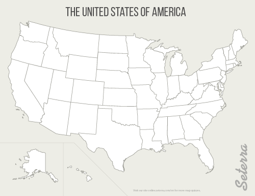 Use our free us map quiz to learn the locations of all the us states. The U S 50 States Printables Map Quiz Game