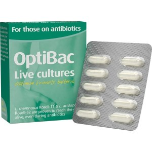 OptiBac Probiotics for Those On Antibiotics
