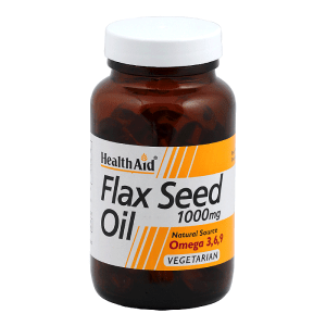 HealthAid Flax Seed Oil (Linseed Oil) 1000mg
