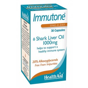 HealthAid Immutone & Shark Liver Oil 1000mg