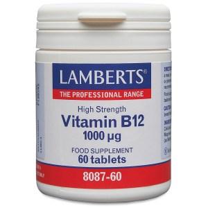 Lamberts Vitamin B12 1000 units