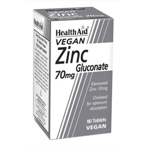 HealthAid Zinc Gluconate 70mg