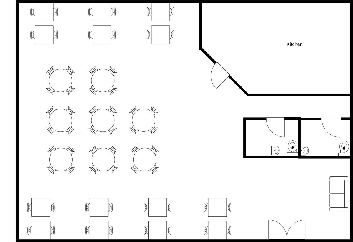 Restaurant Seating Plan Seating Chart Example