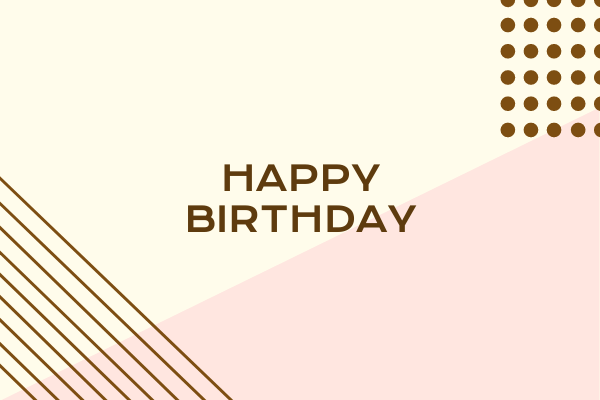 The spruce / evan polenghi the free, printable birthday cards below are perfect are a perfect w. Happy Birthday Greeting Card Greeting Card Template