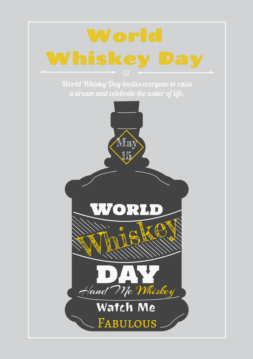 https online visual paradigm com infoart templates posters world whiskey day poster