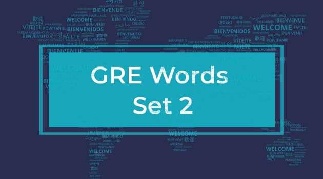 GRE Word List 2