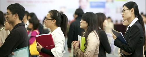 estudiantes chinos