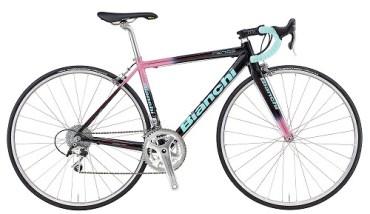 BIANCHI ( ビアンキ ) ロードバイク FENICE PRO CENTAUR ( フェニーチェ プロ ケンタウル ) ブラック / ピンク 53