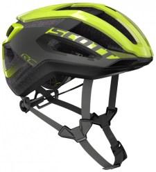 【ワイズロードオンライン限定特価】SCOTT ( スコット ) ヘルメット HELMET CENTRIC PLUS イエロー グレー L☆ほかのサイズもございます