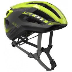 SCOTT ( スコット ) ヘルメット HELMET CENTRIC PLUS イエロー グレー M☆ほかのサイズもございます