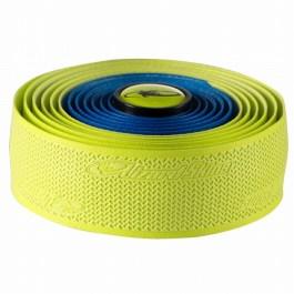 LIZARD-SKIN ( リザードスキン ) SKINS DSP 2.5 DUAL バーテープ ブルー / ネオン イエロー