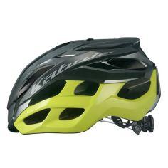 OGK KABUTO ( オージーケーカブト ) スポーツヘルメット VOLZZA ( ヴォルツァ ) ガンメタイエロー L/XL