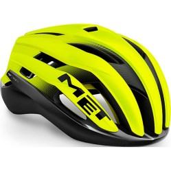 MET ( メット ) ヘルメットTRENTA MIPS ( トレンタ ミップス ) ブラック セーフティ イエロー M
