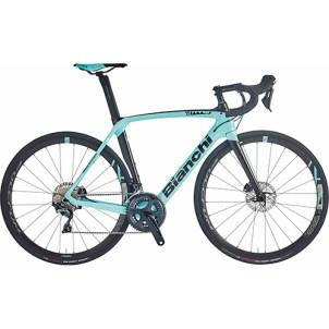 【3台限定】BIANCHI ( ビアンキ ) 2021 ロードバイク OLTRE XR3 CV DISC 105 ( オルトレ XR3 CV ディスク 105 ) CK16 ( チェレステ ) / ブラック フル グロッシー 53