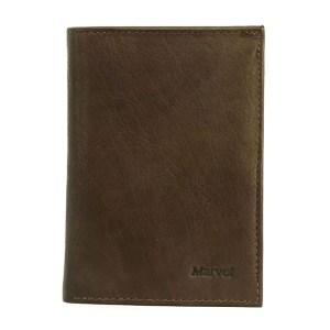 EDA757016-01-Πορτοφόλι δερμάτινο ανδρικό καφέ Marvel 46790006 | Online 4u Shop
