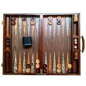 EDE900036-Τάβλι βαλίτσα από καρυδιά Giannakouras 60414 | Online 4u Shop