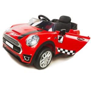 EXD750003-Παιδικό ηλεκτρικό αυτοκίνητο Mini Cooper 12V scorpion wheels