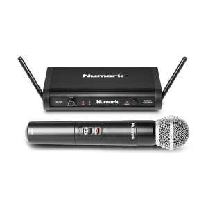 EXM005001 Ασύρματο ψηφιακό μικρόφωνο χειρός 24-bit Numark WS-100 | Οnline 4U Shop