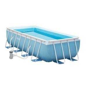 HGP552022-01 Παραλληλόγραμμη πισίνα με μεταλλικό σκελετό Intex Prism 28318