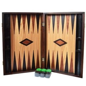 EDE900046-Τάβλι βαλίτσα από ελιά 50Χ50 Giannakouras 400500Β | Online 4U Shop