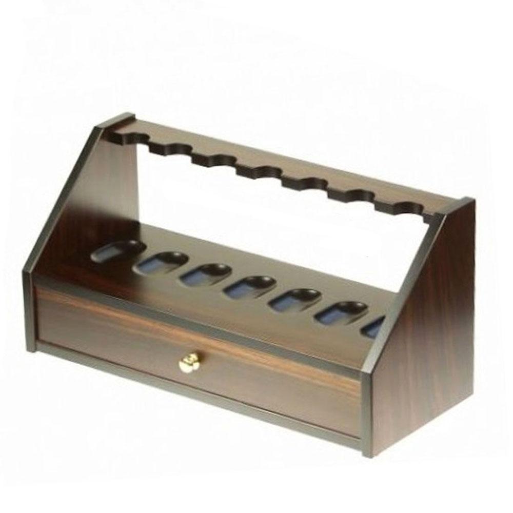 EDK006038-Όρθια βάση για 7 πίπες καπνού Lubinski C167 | Online 4U Shop