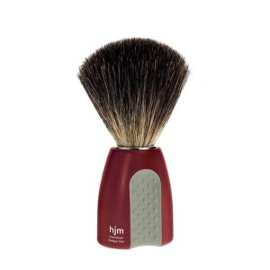 hba006015-4-Πινέλο ξυρίσματος με τρίχα ασβού Mühle Pinsel HJM181P8 | Online 4U
