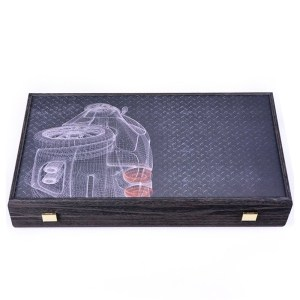 EDE900050-Ξύλινο τάβλι wenge TXL1CWD auto design | Online 4U Shop