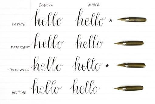 Πως προετοιμάζω μια πένα καλλιγραφίας; | Online 4U Shop